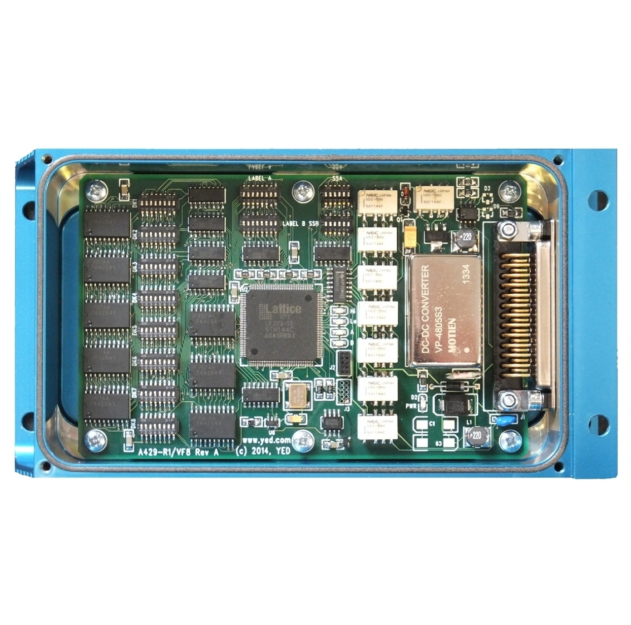 ARINC 429  8-Channel relay converter